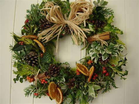 kin christmas wreath making workshop