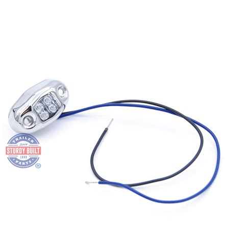 oval led boat lights led blue boat light oval accent with 4 leds with stainless