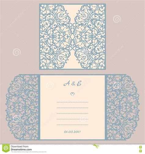wedding invitation ornaments vector wedding invitation or greeting card with abstract ornament vector envelope template for laser