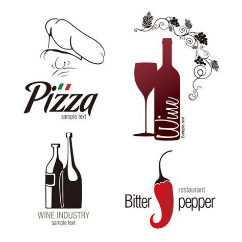 kata kunci botol kaca lada surat vektor materi iklan logo merek dagang free