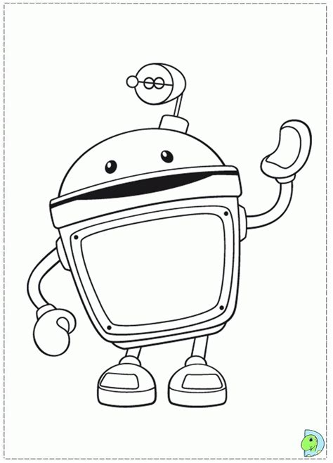 Coloring Page Umizoomi by Umizoomi Coloring Home