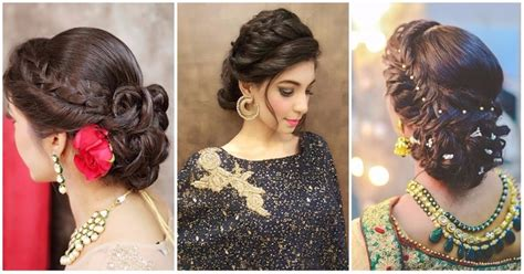 indian hairstyles for engagement function 6 braided bun hairstyles that are simply ah mazing for