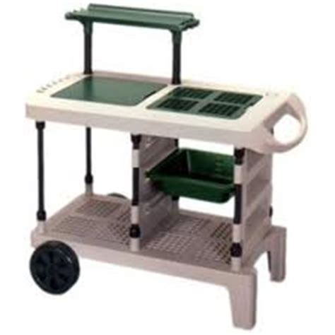 plastic potting bench greenhouse gadgets