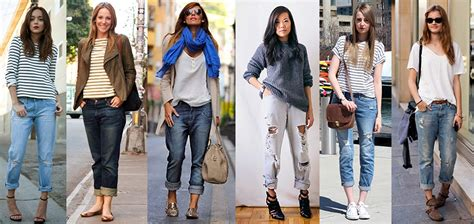 changing your fashion style to look great as a young gray haired woman boyfriend jeans cool styling hacks to get ready for any