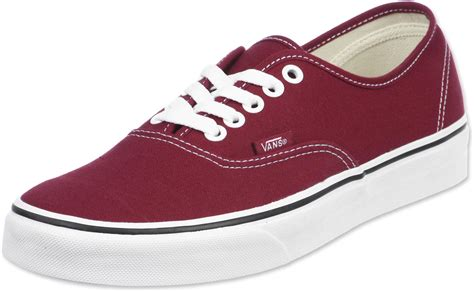 Authentic Maroon vans authentic shoes maroon