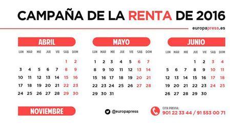 calendario de la renta ya puedes pedir cita previa a hacienda para calendario de la renta ya puedes pedir cita previa a