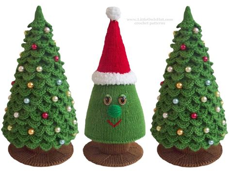 you have to see christmas tree crochet knitting by