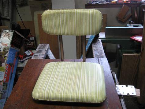 vintage folding boat seat vintage boat seat