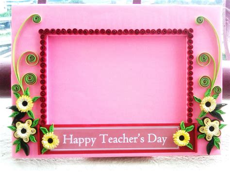 Handmade Teachers Day Card - uniquely handmade for u