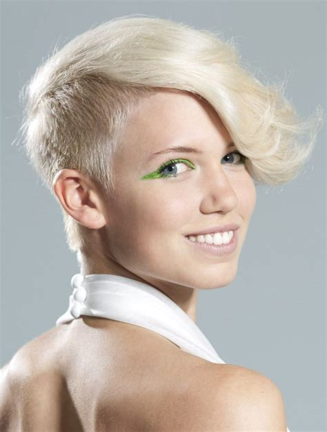 side crop haircut celebrity trend 12 amazingly feminine side shaved