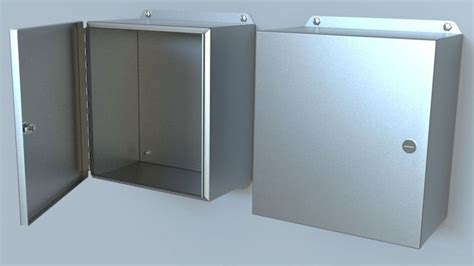 Box Panel Standar 3d electrical steel panel box cgtrader
