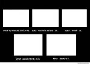 What My Friends Think I Do Template by What I Really Do Meme Weknowmemes
