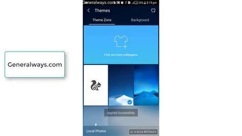 themes for uc browser java how to change theme in uc browser youtube