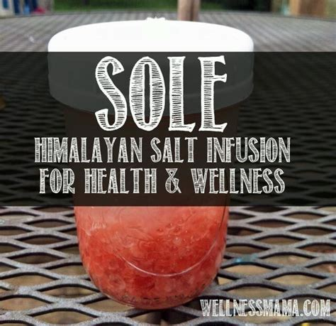 Keto Himalaya Rock Salt 150gr what is sole and how to make it sole mental health and