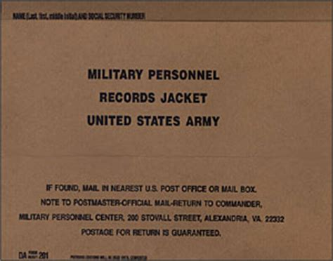 Us Army Records Prologue 20th Century Veterans Service Records Safe Secure And Available