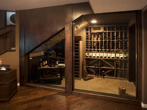 basement homes home basement wine cellar cave rustic