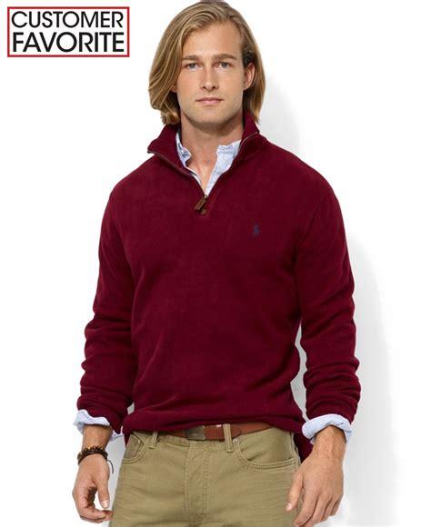 Rompi Vest Zipper Polos 12 polo ralph s half zip rib cotton sweater sweater vest