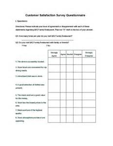 questionnaire survey template survey template questionnaire template all form templates