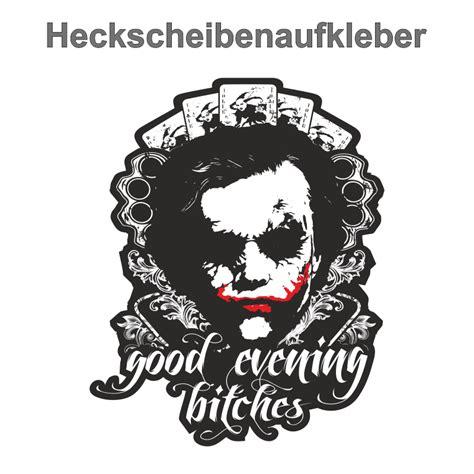 Pkw Aufkleber Spr Che by Pvc Aufkleber Pkw Auto Au 223 En Evening Bitches