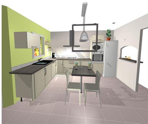 id馥 implantation cuisine plans de cuisines ouvertes modele cuisine ouverte sur