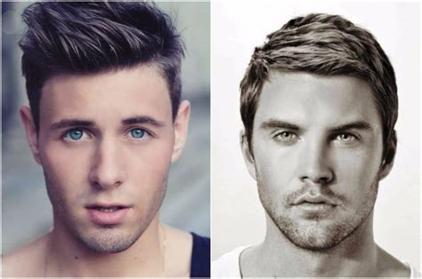 hairstyles by face shape male oval face shape haircuts male driverlayer search engine