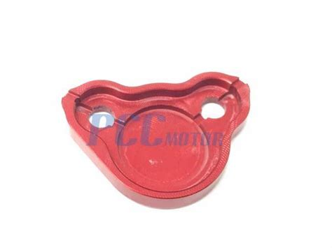 honda rear brake reservoir cover cap cr crf     red rc