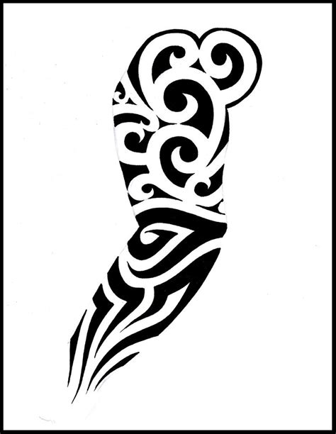 tribal sleeve tattoos stencils sleeve tribal tattoosugg stovle