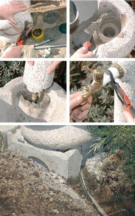 fontane da giardino fai da te fontane da giardino quali scegliere e come si installano