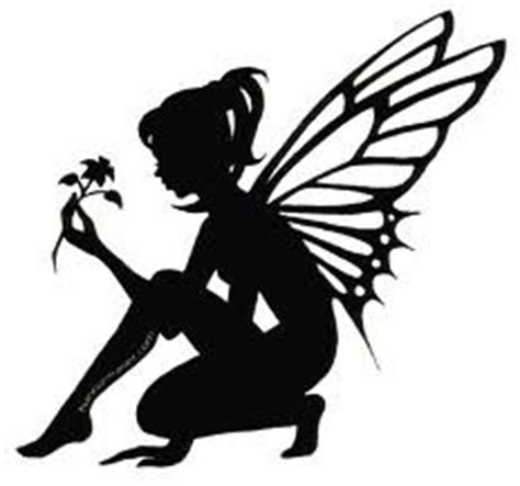 amazon com fairy with flower vinyl car decal white