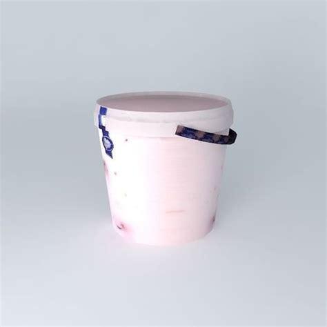 ber 3d yogurt quot daugava quot with forest ber free 3d model max