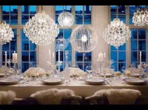 diy winter wonderland wedding decorating ideas youtube