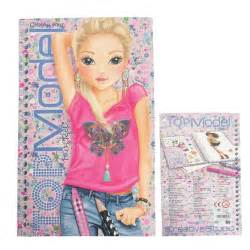 model pocket colouring book byrnes