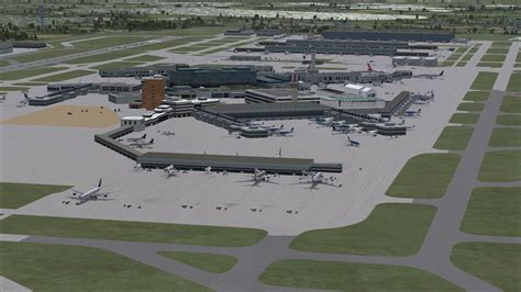 airport design editor update afcad for egll for fsx
