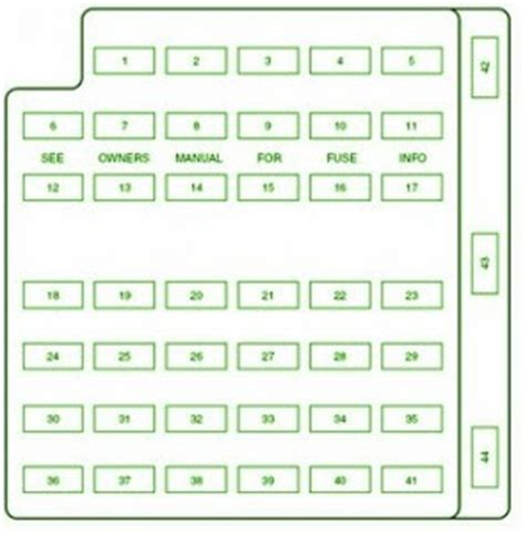 2002 ford mustang fuse box diagram ford fuse box diagram fuse box ford 2002 mustang diagram