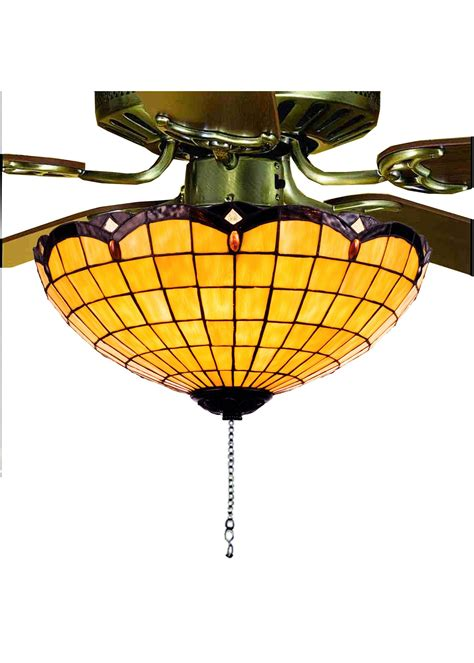 tiffany ceiling fan light kit meyda tiffany 99158 elan tiffany ceiling fan light kit md