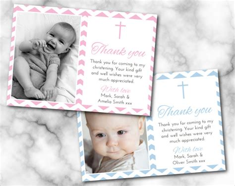 happy christening card template 65 thank you cards in psd free premium templates