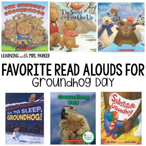 groundhug day books groundhog day books and a freebie learning with mrs