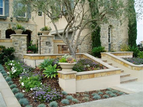 Tuscan Backyard Landscaping Ideas Modern Tuscan Dramatic Pool Outdoor Living Room Mediterranean Landscape San Diego By