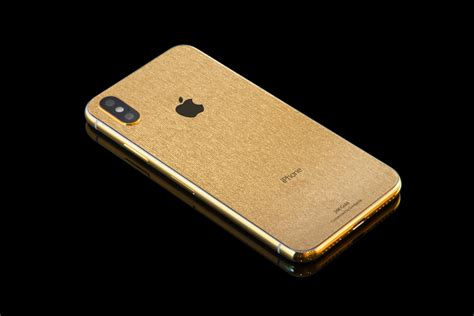 iphone xs radiance 5 8 24k gold customisation goldgenie international