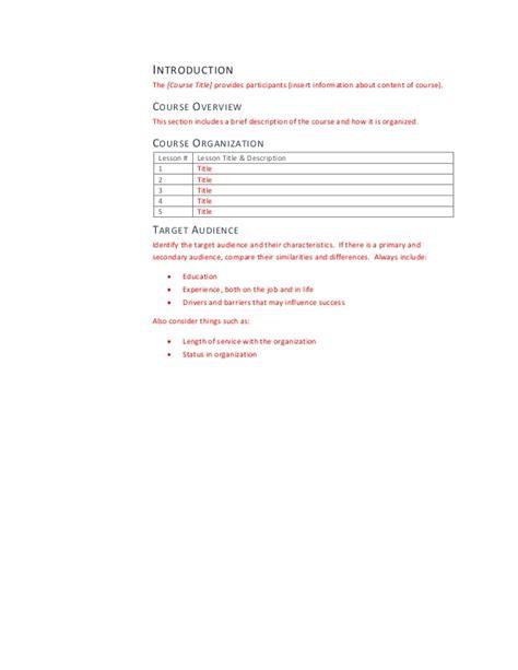 facilitator guide template facilitator guide template