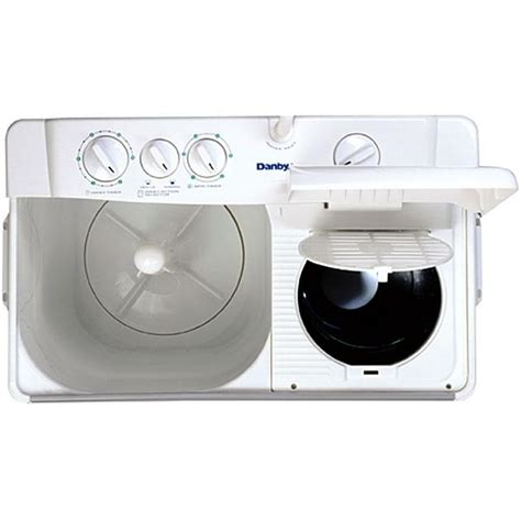 Energy Efficient Toasters Danby Dtt420w 10 Lb Twin Tub Portable Washer White