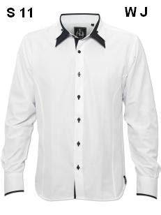 Ziverseven Ajr Black Original mix cotton white with black contrast by ajr collections