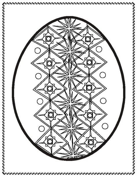 pysanky eggs coloring page 17 best images about fabrege pysanky designs on pinterest