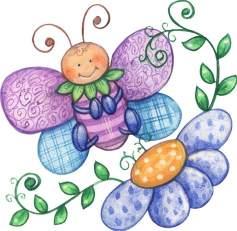 imagenes infantiles libres dibujos de mariposas para imprimir
