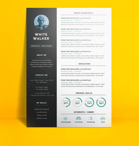 Resume Samples Online Free by Download 35 Free Creative Resume Cv Templates Xdesigns