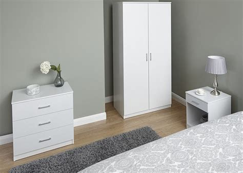 panama 3 piece bedroom set white by gfw at mattressman panama 3 piece bedroom set