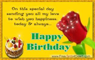 wish you happiness today and always happy birthday animated greeting ecard greeting cards
