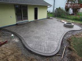 How Much Is A Yard Of Gravel Cost Stamped Concrete Patio Installation Do S And Don Ts