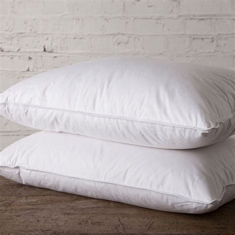 goose down bed pillows standard goose down pillows ricahrd haworth