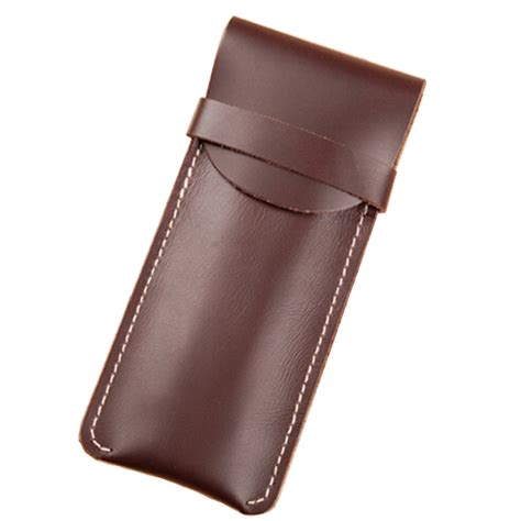 Handmade Leather Pencil - handmade fashion genuine cowhide leather holster bag for